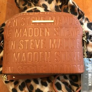 Gorgeous, new, Steve Madden cognac crossbody ❤️